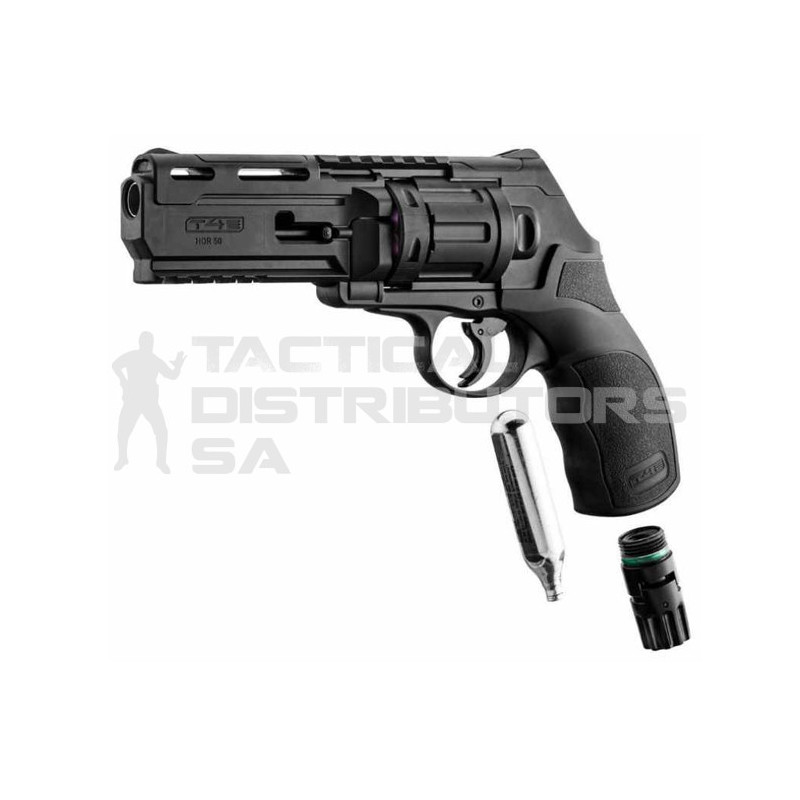 Umarex T4E HDR 50 .50 Cal. CO2 Revolver Defense & Training Marker