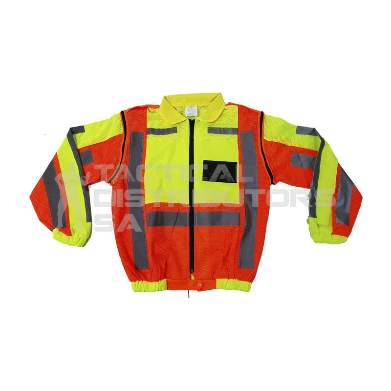 Metro Reflective Jacket with Detachable Sleeves