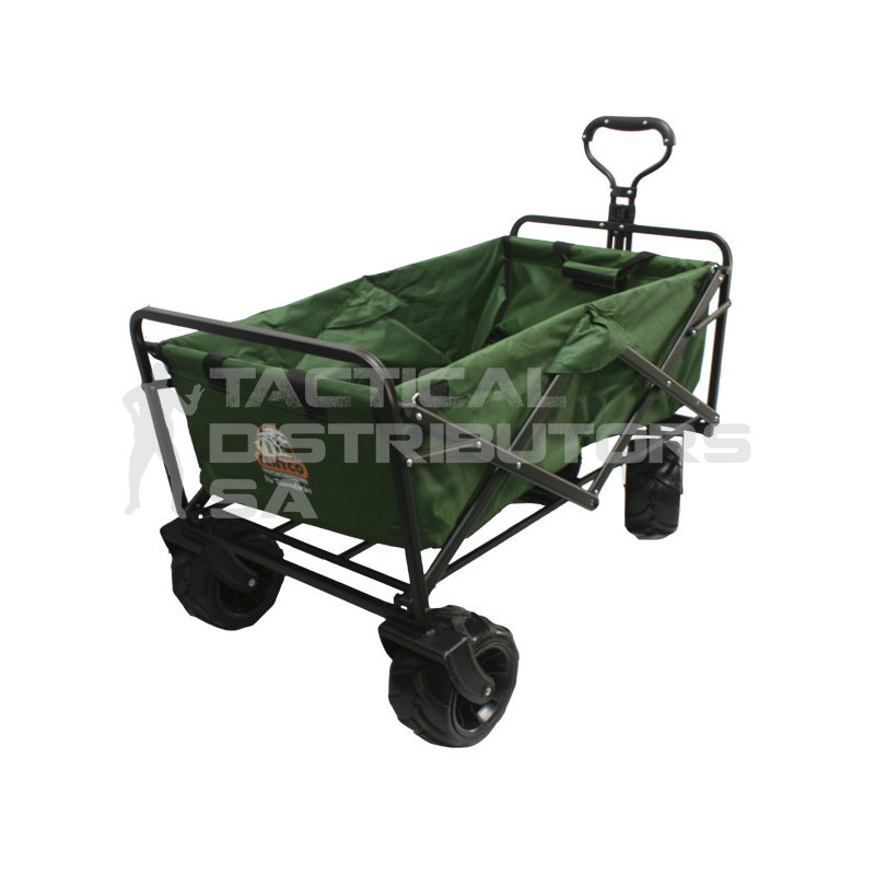 New Upgraded Tentco Large Wheel 4x4 Folding Camping/Outdoor/Utility Trolley
