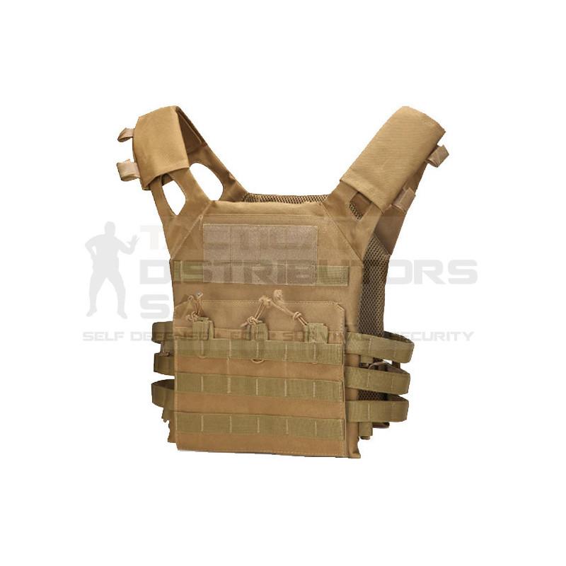 Basic Lightweight Level IIIA MOLLE Plate Carrier - Various