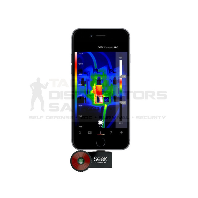Seek Compact Pro IOS 550m Smartphone Thermal Camera