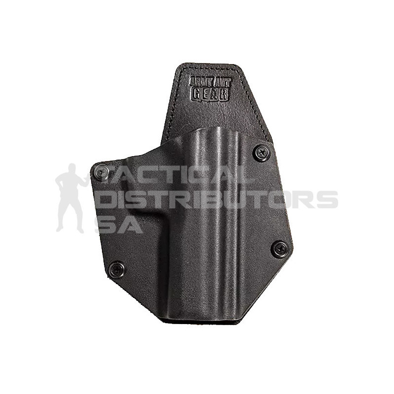 AAG Lieutenant Premium Hybrid Kydex And Leather OWB Holster - Various -  Tactical Distributors SA (Pty) Ltd