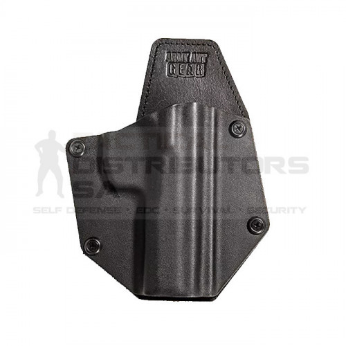 AAG Lieutenant Premium Hybrid Kydex And Leather OWB Holster - Various