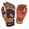 Pioneer Maxmac Inpax Glove Cut Ansi LV5, 8G, Sandy Nitrile Palm Work Gloves
