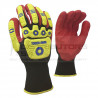 Pioneer Maxmac Tough Hand Glove, 13G, Sandy Nitrile Palm Work Gloves