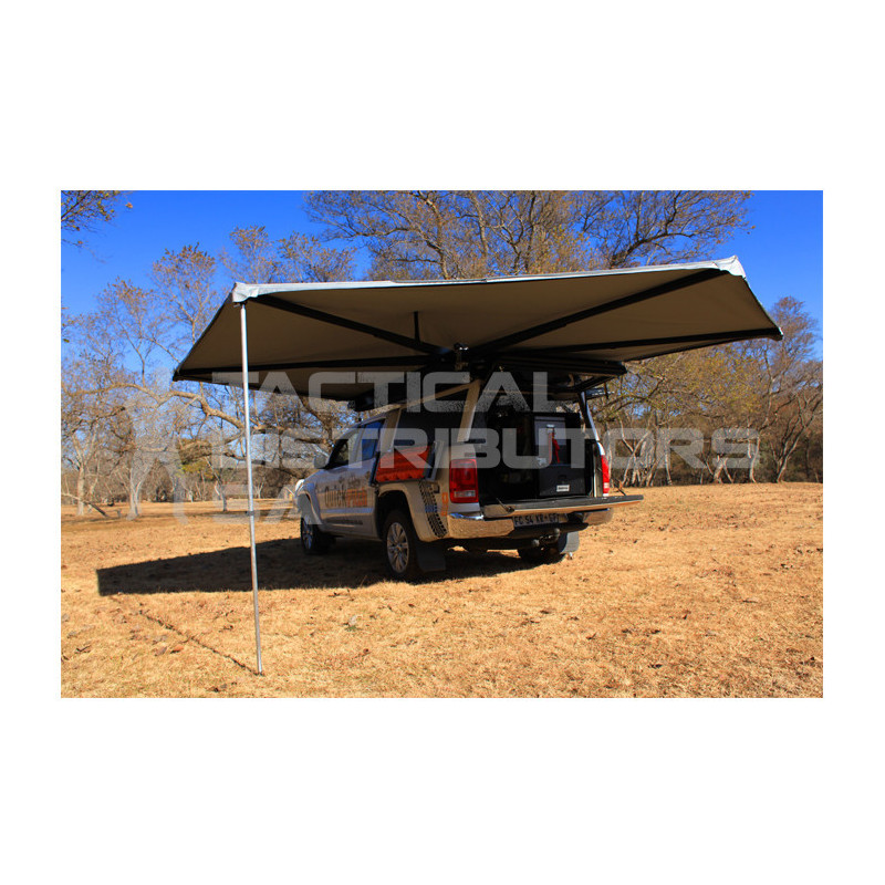 Quick Pitch Weathershade 20 Second 270 Degree Awning