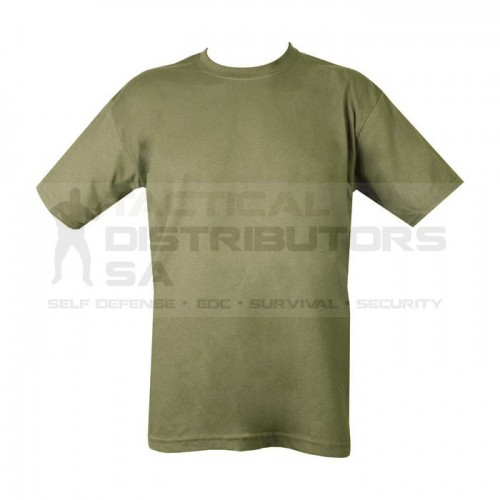 Basic Poly-Cotton T-Shirt - OD - Various