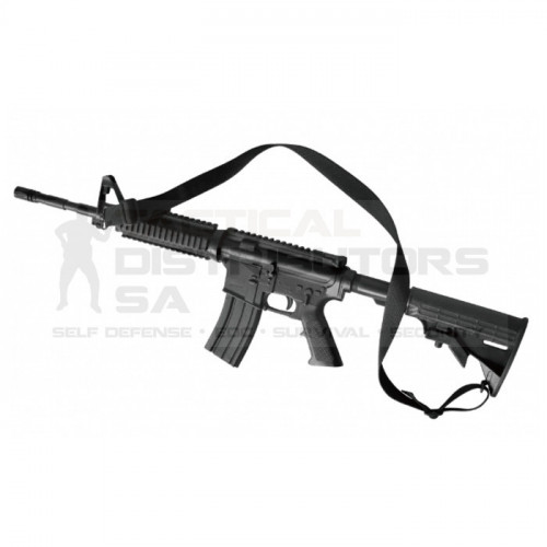 DZI Rubber Inert AR-15 Training Rifle 88cm - Black