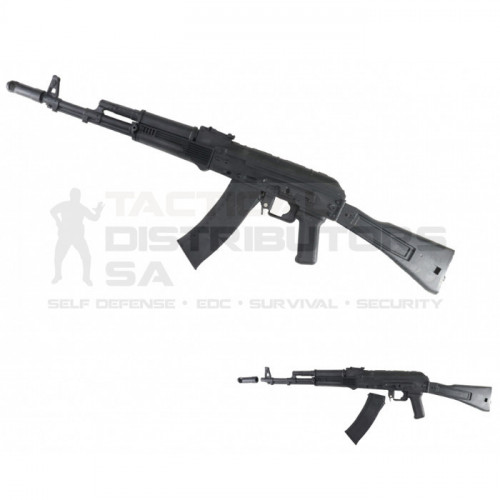 DZI Rubber Inert AK Training Rifle 96cm - Black