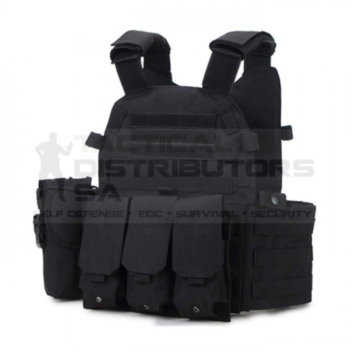 Basic Medium MOLLE Plate Carrier Only -Various