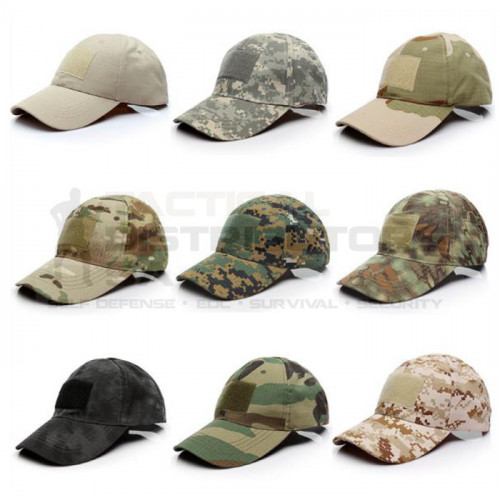 TacSpec Tactical Cap with Velcro - Various