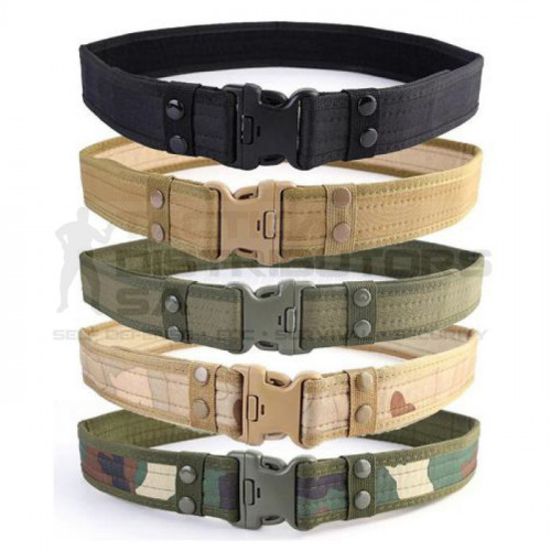 TacSpec Tactical Belt with Keepers - Various