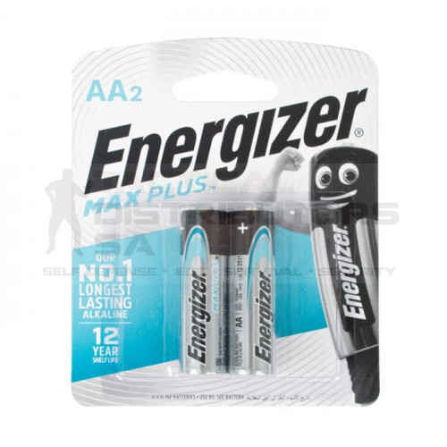 Energizer Maxplus AA Batteries - 2 Pack