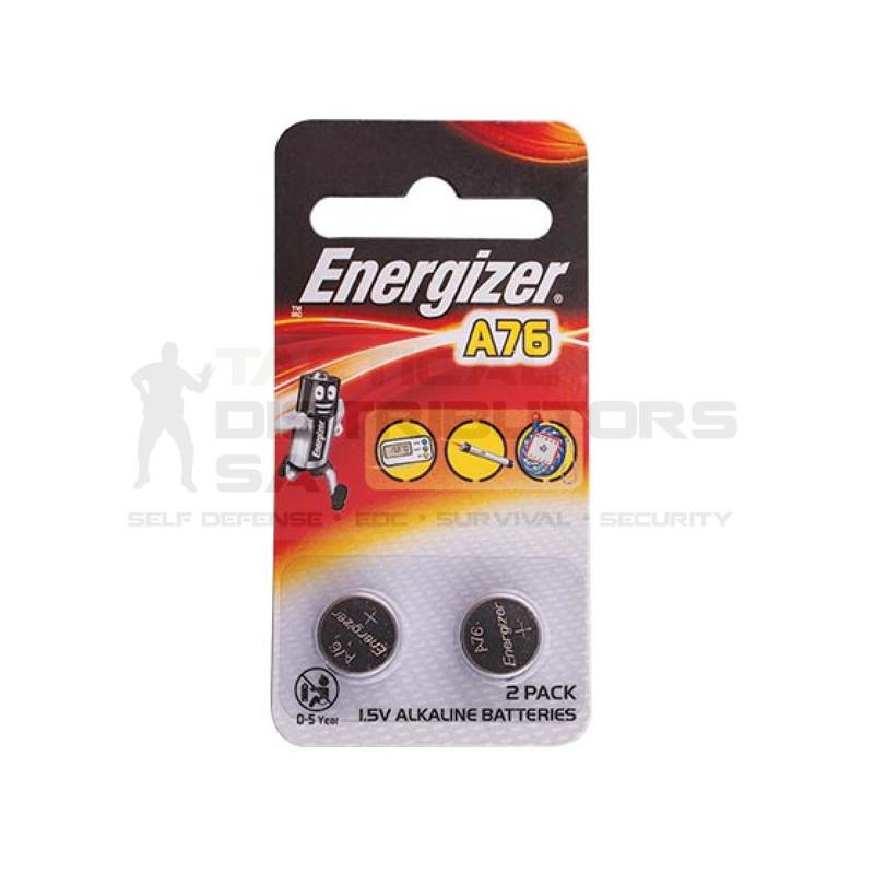 Energizer A76 LR44 1.5V Alkaline Battery 2 Pack Coin