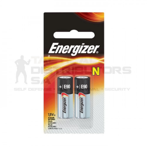 Energizer Miniature Alkaline Battery: N (For most gates remotes.)