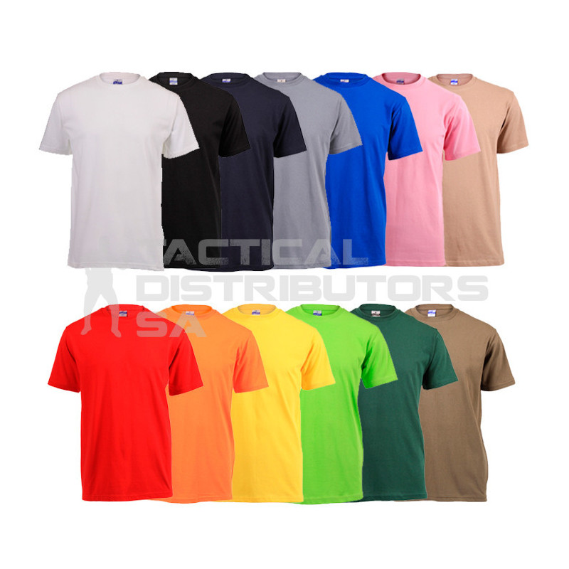 180g Plain T-Shirt - Various