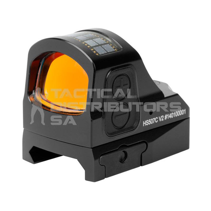 Holosun HS507C Pistol Sight, Multi Reticle /Solar Panel