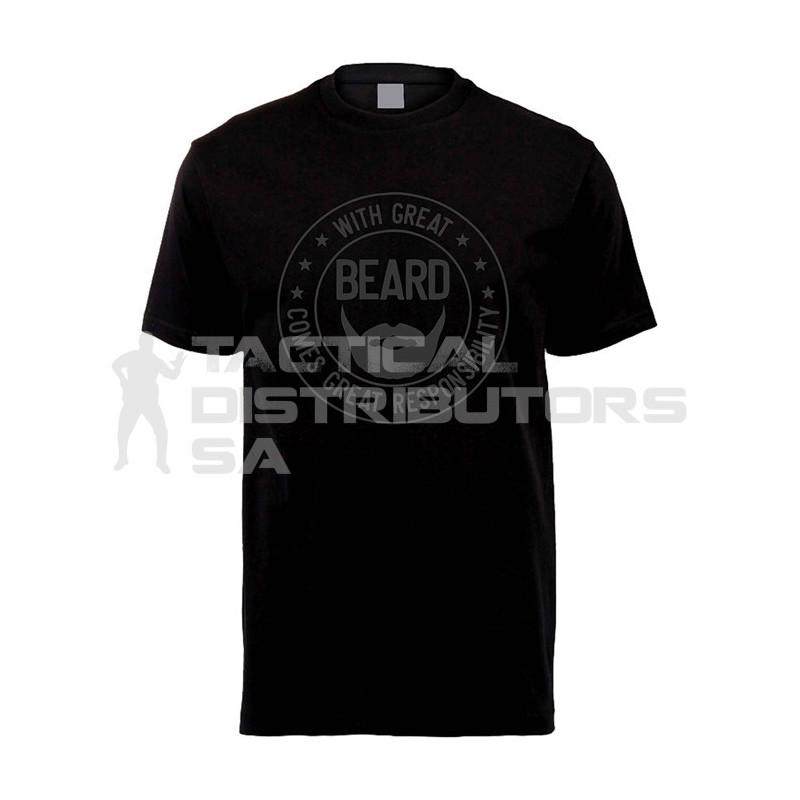 "DZI ""Great Beard"" 180g Logo T-Shirt - Various"