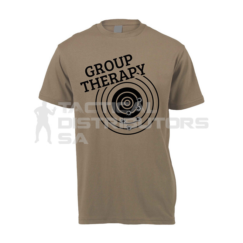 "DZI ""Group Therapy"" 180g Logo T-Shirt - Various"