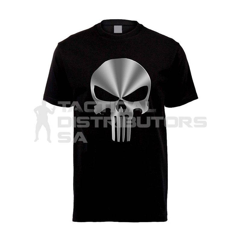 "DZI ""Metallic Punisher"" 180g Logo T-Shirt - Various"