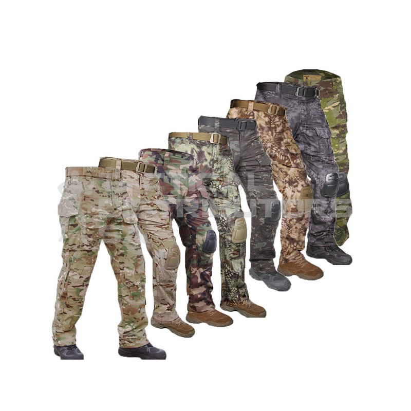 TacSpec Battle Pants with Built in Knee Pads - Various