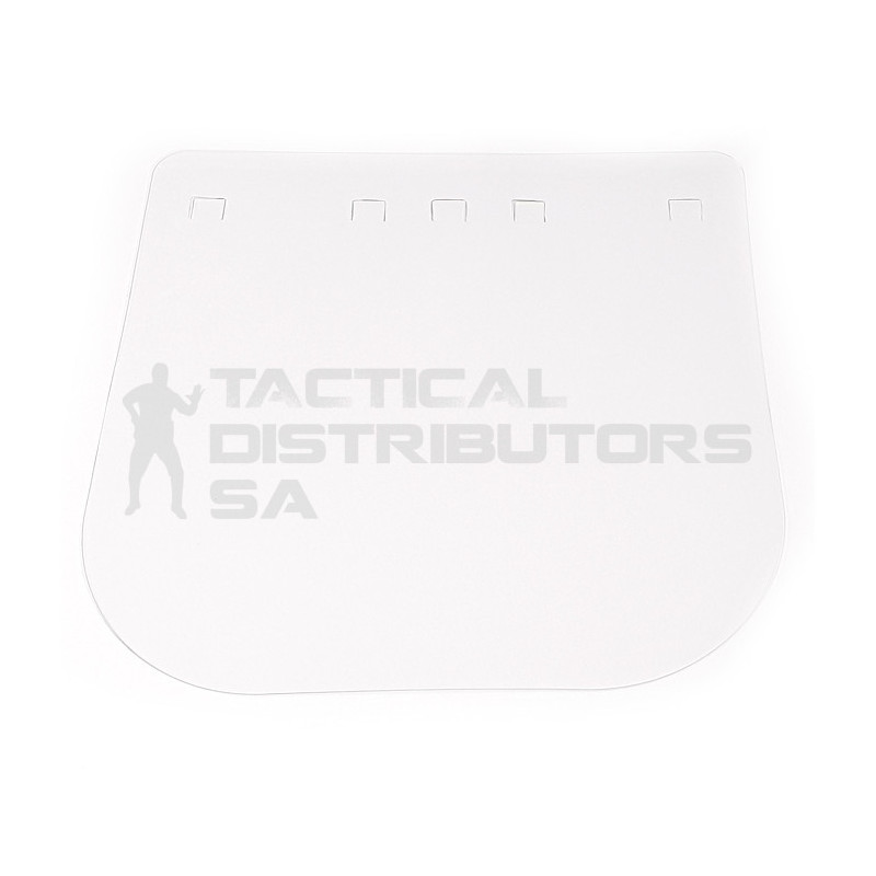 Replacement Visor/Shield (400mic) for 2 Piece Protective...