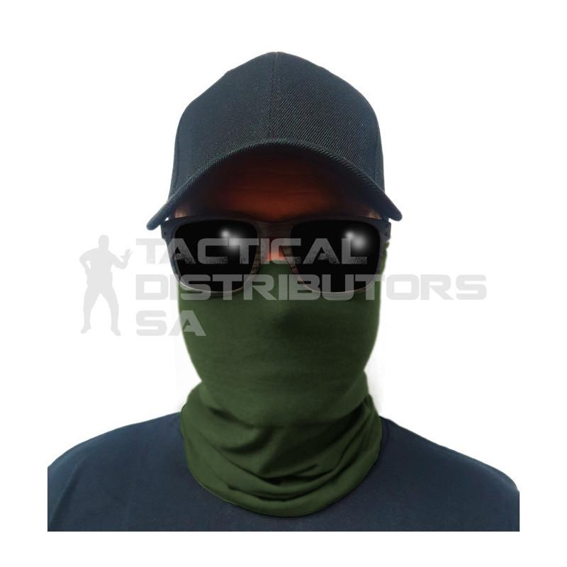 Multi-Use Tubular Bandana/Gator Face Shield - Tactical OD...
