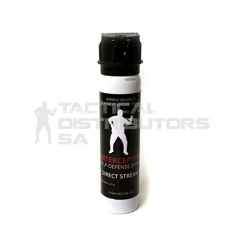 Interceptor 110ml/60g Pepper Spray - Direct Stream