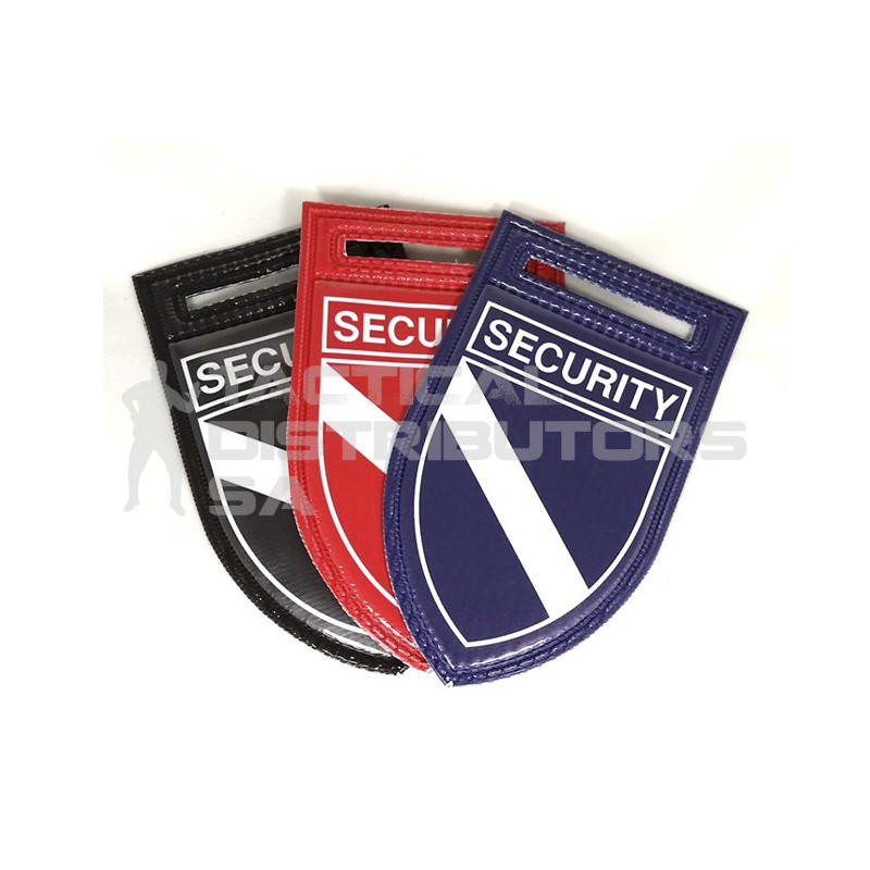 "PVC ""SECURITY"" Flash - Set of 2 - Various Colours"