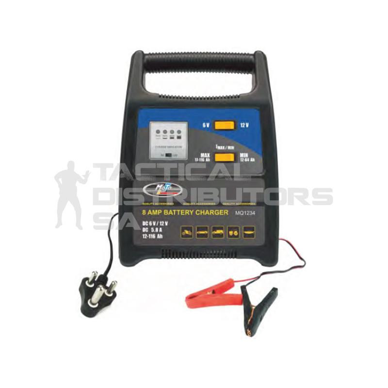 Moto-Quip 8 Amp Battery...