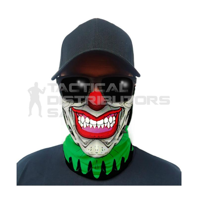 Multi-Use Tubular Bandana/Gator Face Shield - Trickster