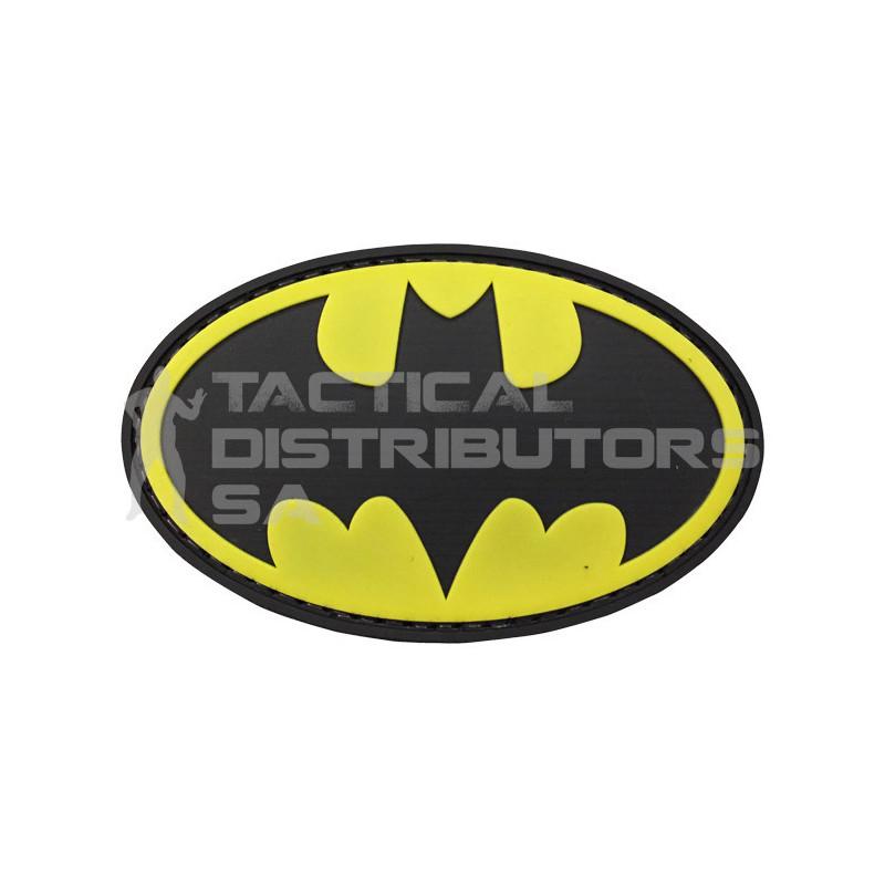 """TacSpec """"Batman Sign"""" PVC Velcro Patch"""