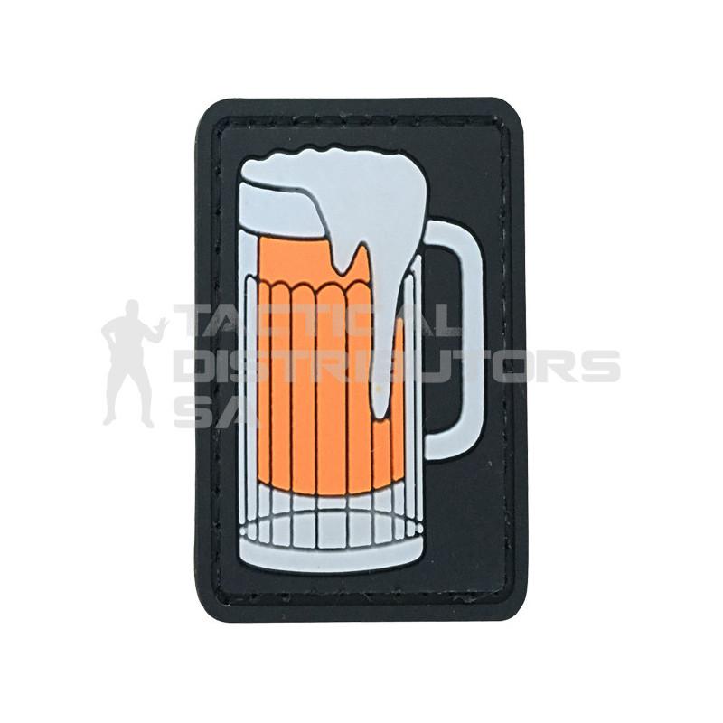 """TacSpec """"Beer Mug"""" PVC Velcro Patch"""
