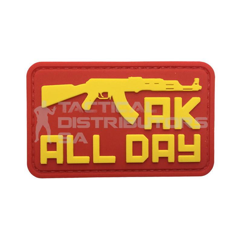 "TacSpec ""AK All Day"" PVC Velcro Patch"