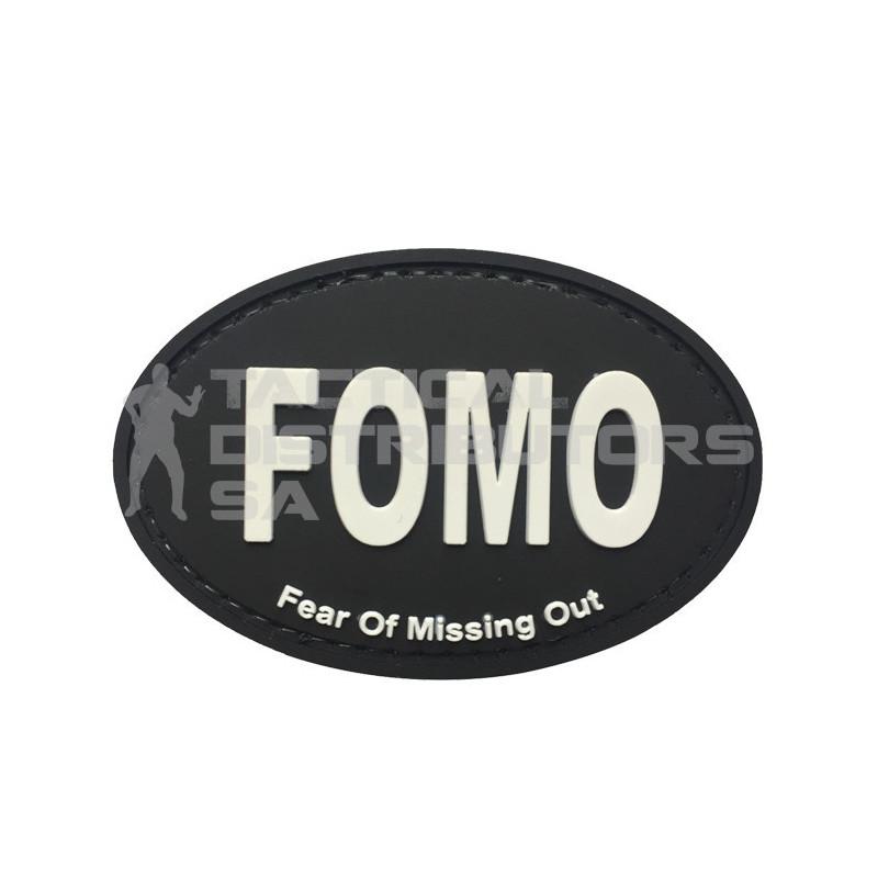 "TacSpec ""FOMO"" PVC Velcro Patch"