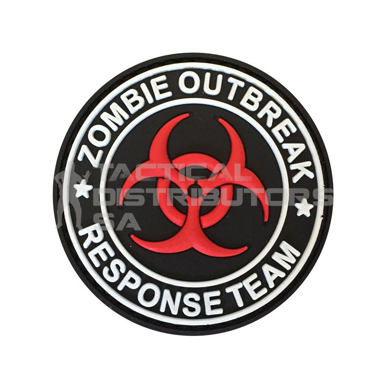 "TacSpec ""Zombie Outbreak Response Team Biohazard"" PVC..."