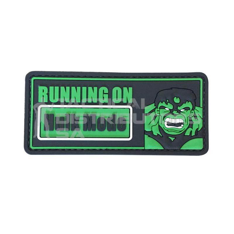 """TacSpec """"Hulk Mode"""" PVC Velcro Patch"""