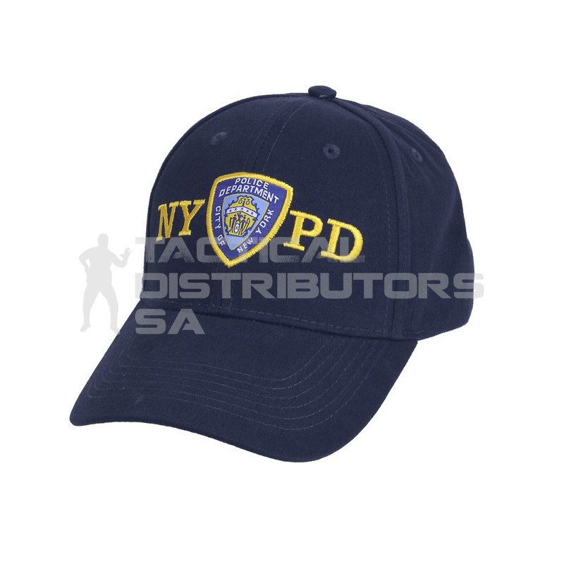 db5333bd0 Officially Licensed NYPD Adjustable Cap With Emblem - Tactical Distributors  SA (Pty) Ltd
