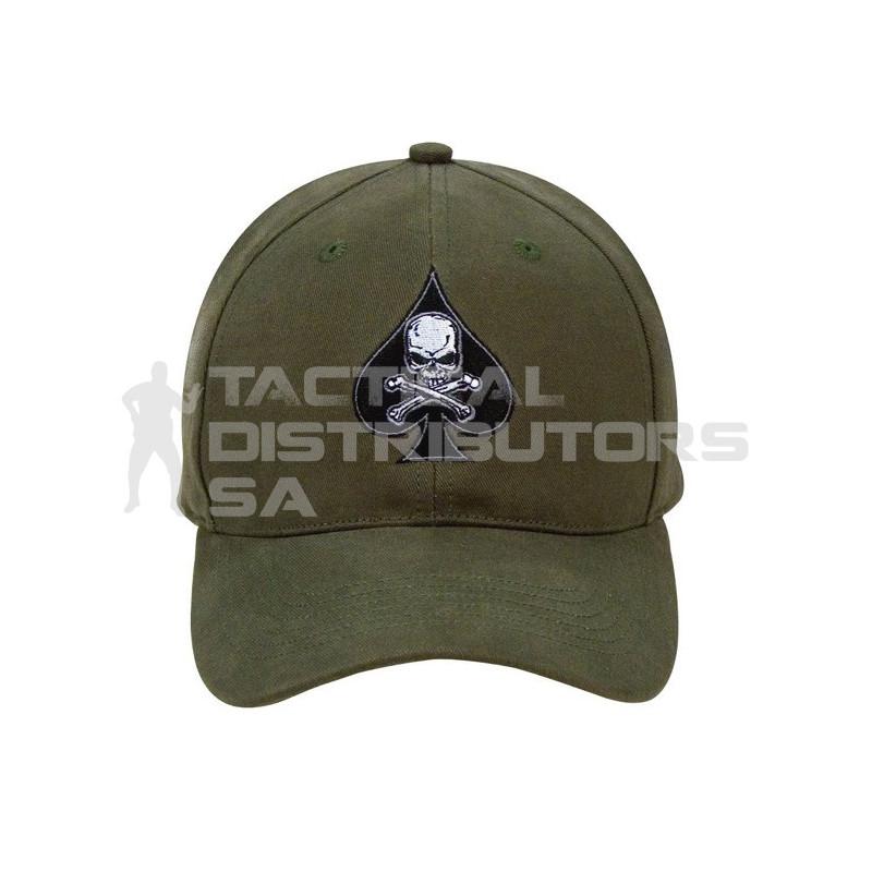 faba94d0f5f Death Spade Low Profile Insignia Cap - Tactical Distributors SA (Pty) Ltd