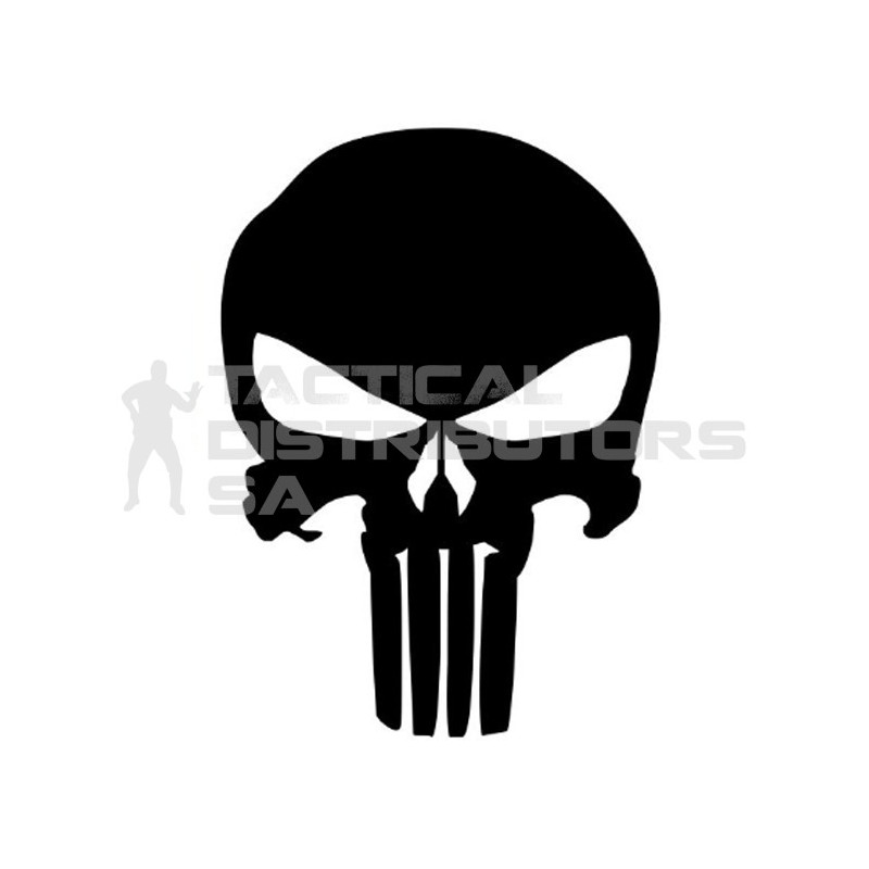 DZI Punisher Vinyl Transfer Sticker - 150mm - Various