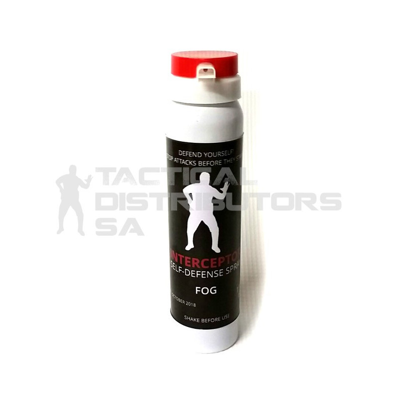 Interceptor 110ml/60g Pepper Spray - Fog (Std Cap)