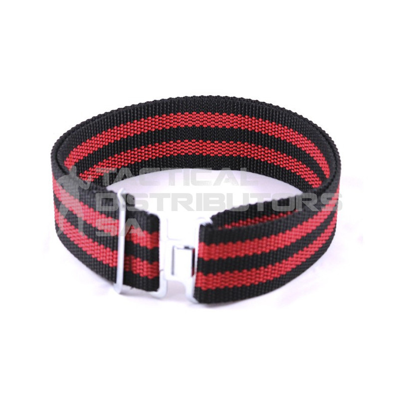 Security Web Belt - Striped