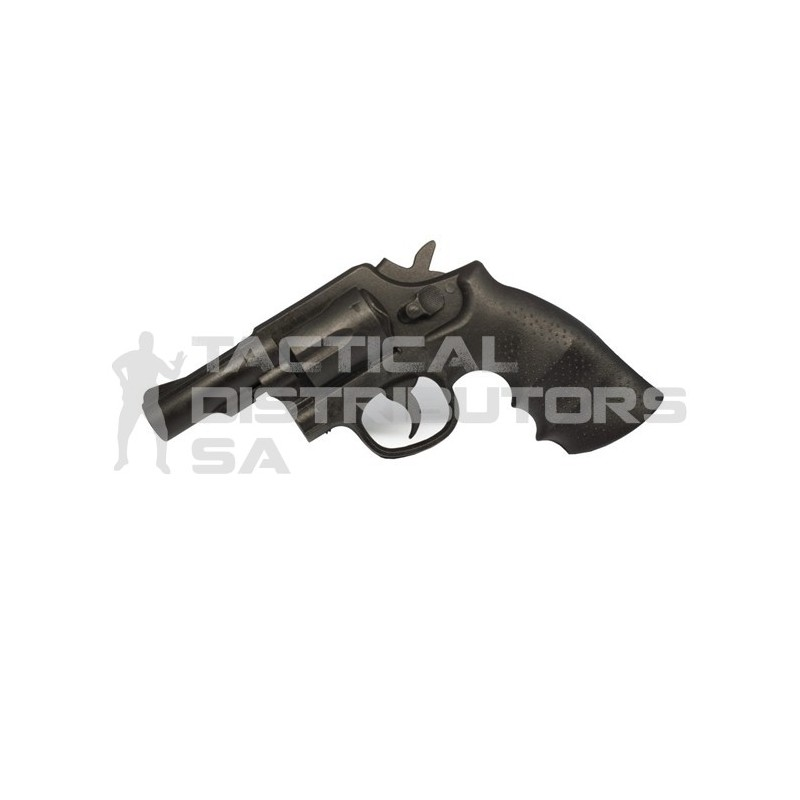 "DZI Rubber Training Gun - 2"" Barrel Revolver"