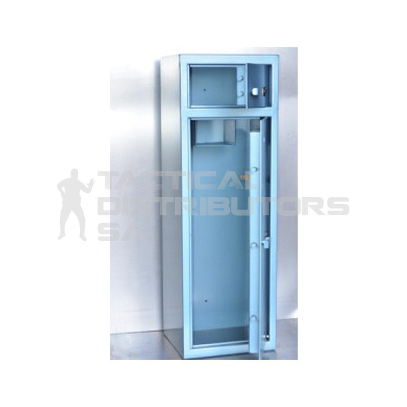10 Gun Double Door Safe - 1500H x 500W x 445D - SABS Approved