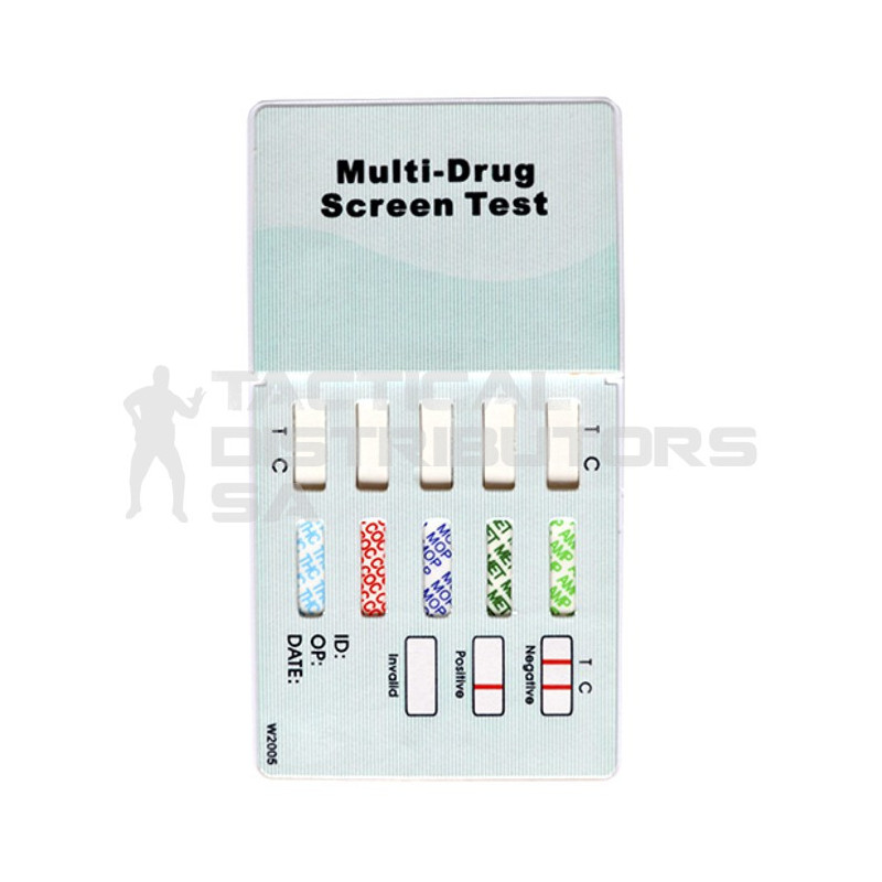 Drug Tester - 5 Panel Multi - Casette
