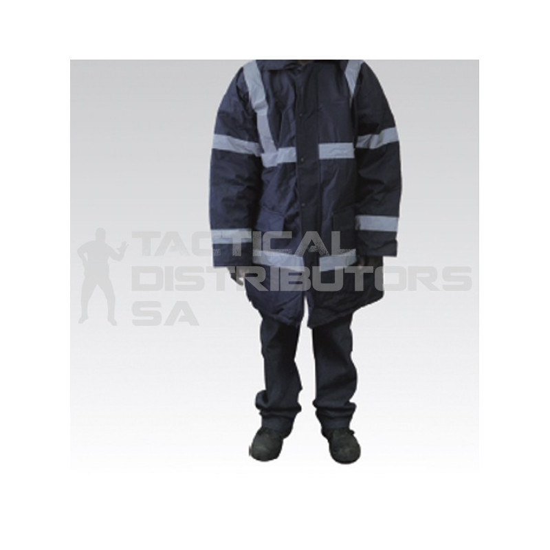 Parka Jacket with Reflective Tape - Various Colours