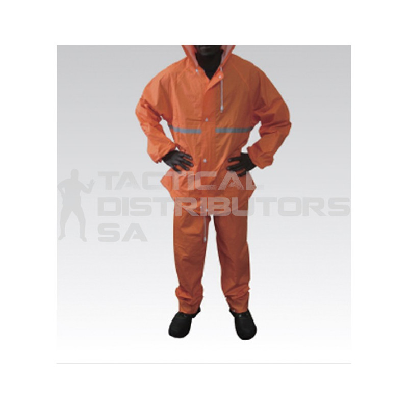 Rubberised Rain Suit with...
