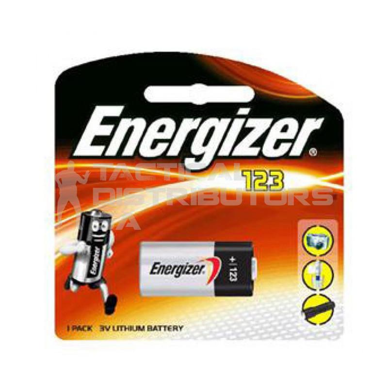 Energizer 3V Lithium Photo CR123 Battery
