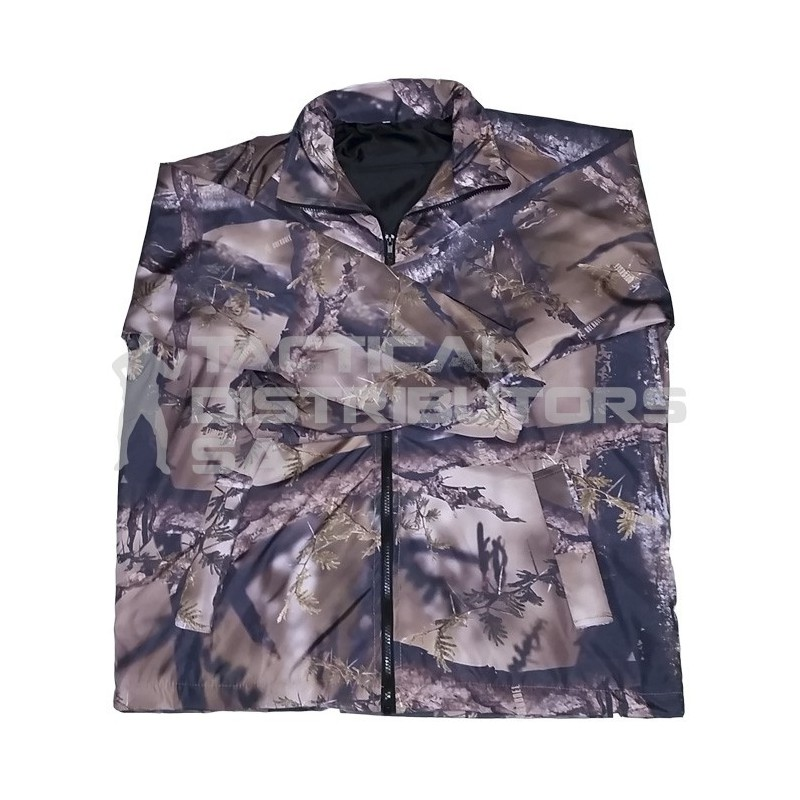 Camo Hooded Windbreaker - Various Colours