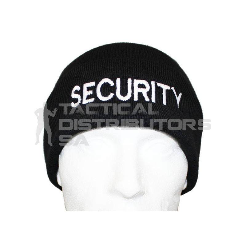"Knitted ""SECURITY"" Beanie - Various"